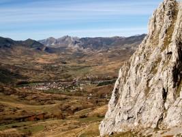 Villamanín y las Tres Marías, subiendo al Fontún