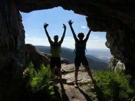 Según las leyendas, la cueva daba cobijo a los bandoleros.