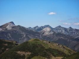 Gabancera Peña Silla y el Gildar desde el Alto Triguera