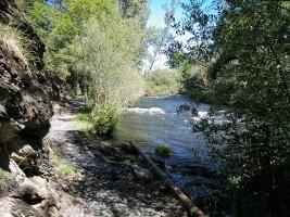 Foto 1. Tramo incial junto al río Pisuerga