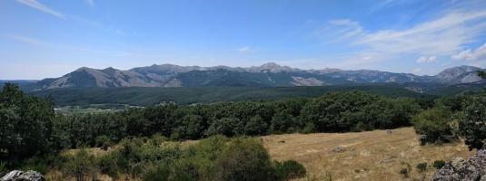 Foto 4. Sierra del Brezo desde el Mirador de las Matas