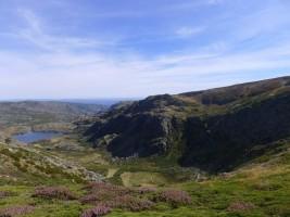 Laguna del Lacillo y valle del Tera