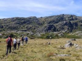 Caminando hacia el Moncalvo