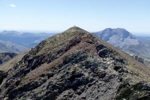 El Pico del Infierno, detrás el Espigüete