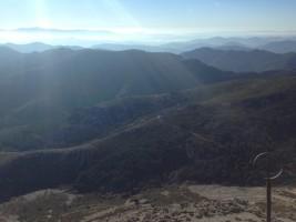 Foto 4.Panorámica desde lo más alto