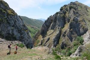 Vista de El Faedo y las Hoces de Villar desde las proximidades de Villar del Puerto