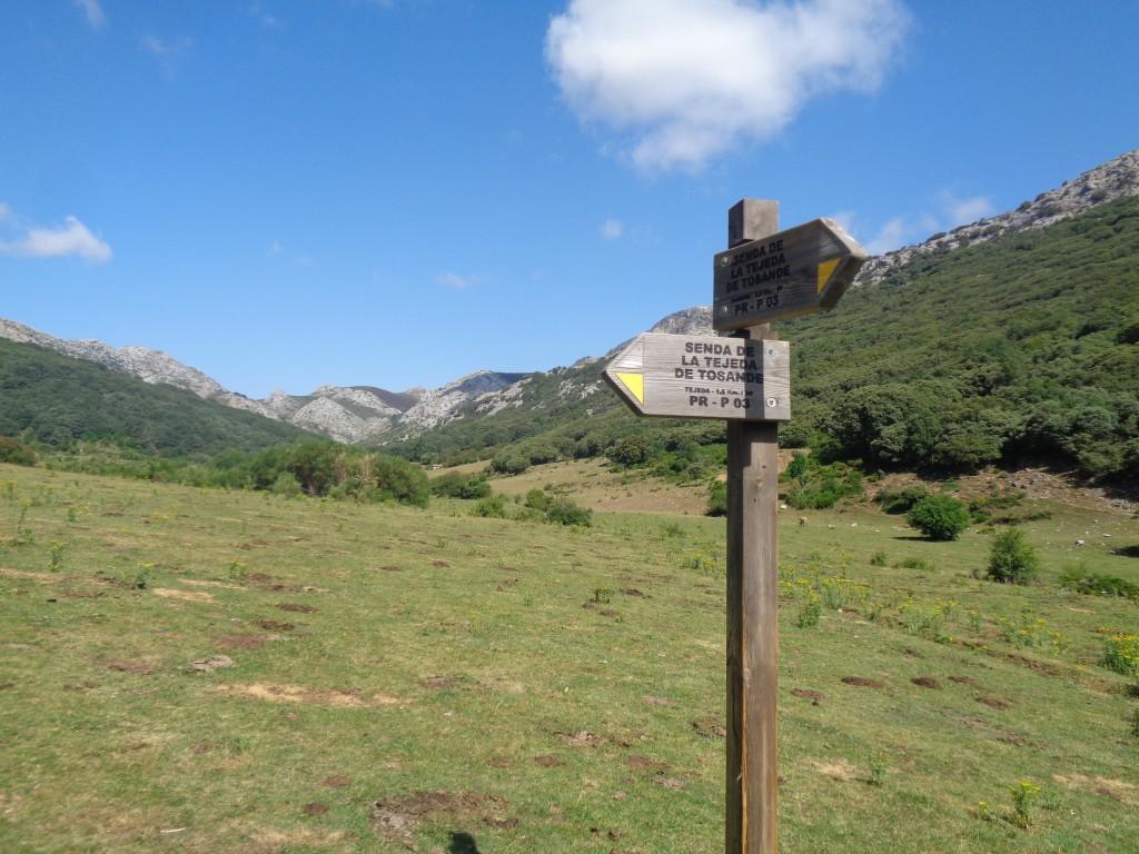 El Parque Natural Montaña Palentina homologa su red de senderos