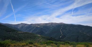 Vista de la Sierra de la Demanda